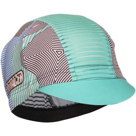 Bioracer Summer Cap, kontur green pink